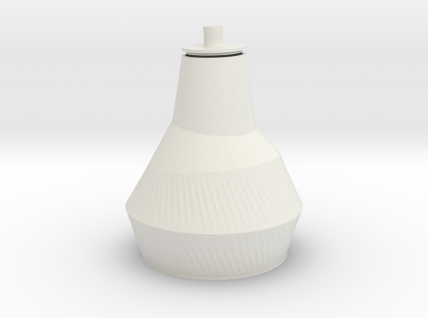 URN Babel in White Natural Versatile Plastic