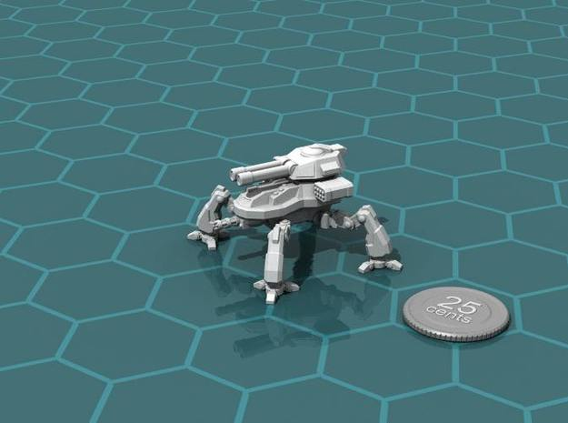 Terran Artillery Walker in White Strong & Flexible