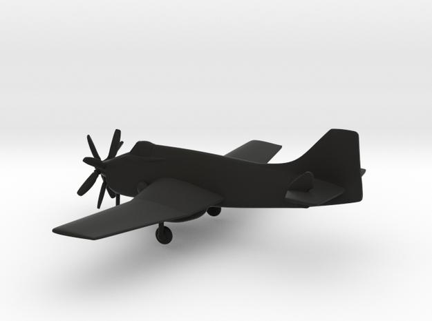 Fairey Gannet AEW.3 in Black Strong & Flexible: 1:160 - N