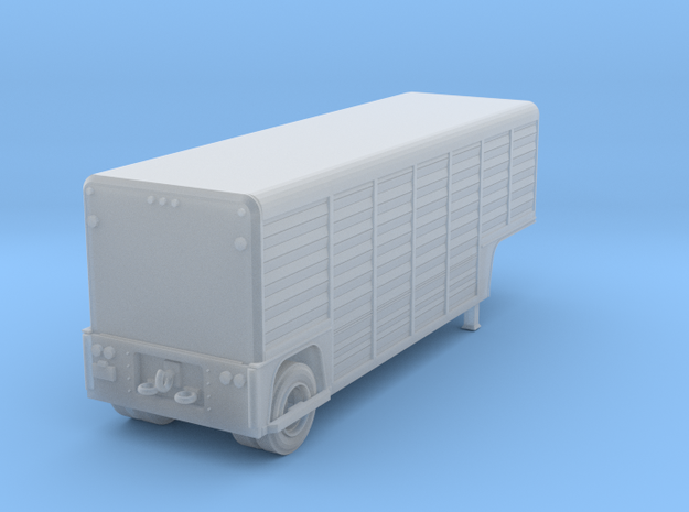 N-Scale Mickey 26' Beverage Trailer in Smoothest Fine Detail Plastic