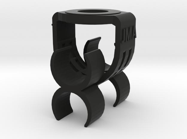 MS Stereo 20mm Mic Clip in Black Natural Versatile Plastic