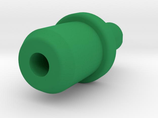 Premsa Superior Caja AUtoclave 1 in Green Processed Versatile Plastic