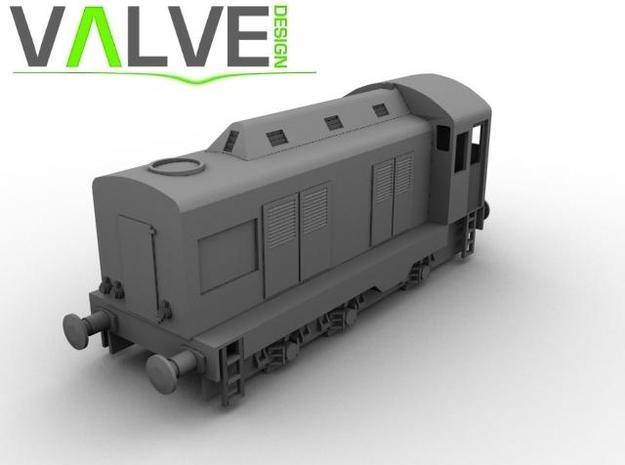 CIE E Class 401 OO Scale 3d printed Computer Render of E401 Model