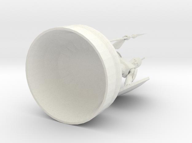 Ares in White Natural Versatile Plastic
