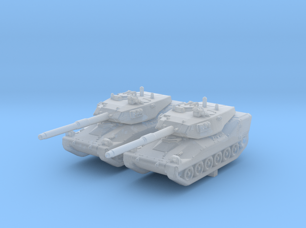 1/285 (6mm) British VFM Mk.5 Light Tank x2 in Smooth Fine Detail Plastic