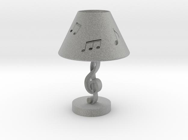 音符燈 in Metallic Plastic
