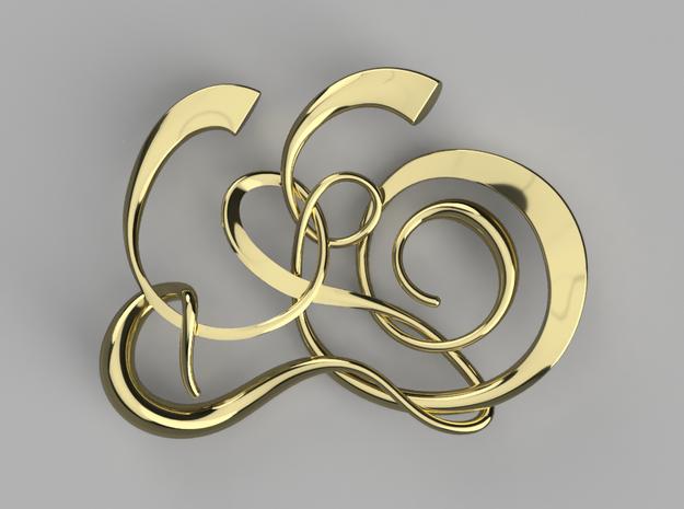Gijsbrechts Calligraphy Pendant