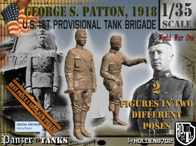 1-35 George S Patton 1918