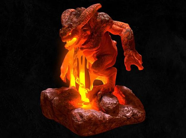 demon 3d printed Description