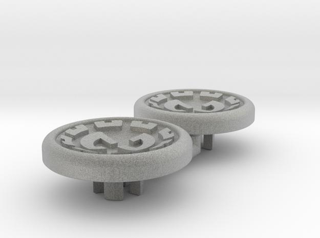 Dwemer spinner caps - Magnetic, Standard