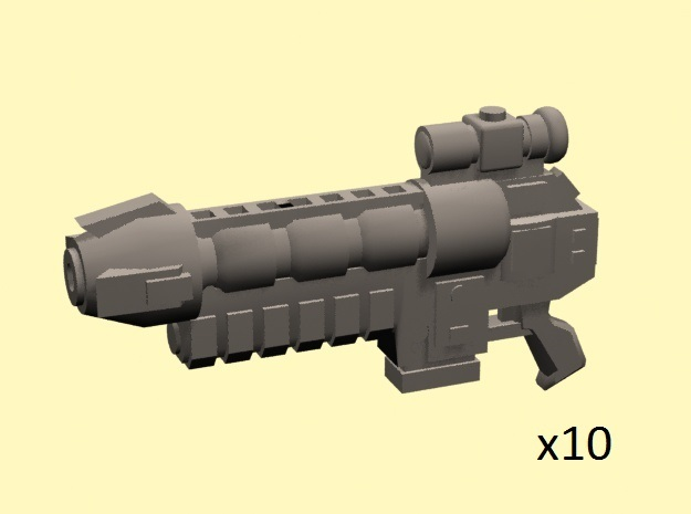 28mm GRP Gravity particle rifles (10)