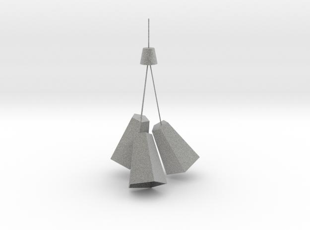 吊 燈 in Metallic Plastic
