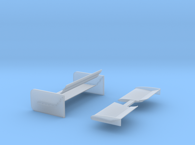 Lola Road Course Wing set 1/25 scale in Smooth Fine Detail Plastic