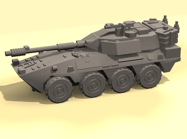 1/160 B1 Centauro armoured car in Smooth Fine Detail Plastic