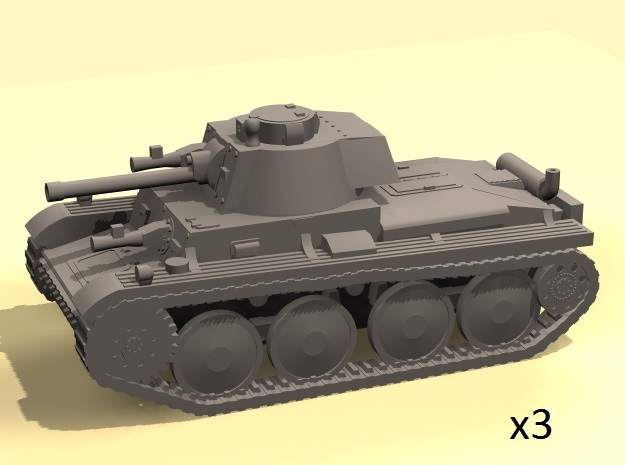 1/160 Pz 38(t) tank in Frosted Ultra Detail