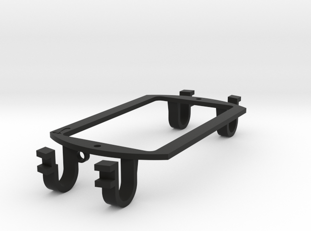 (eureka) Sound Hole Pickup Mount - Humbucker in Black Strong & Flexible