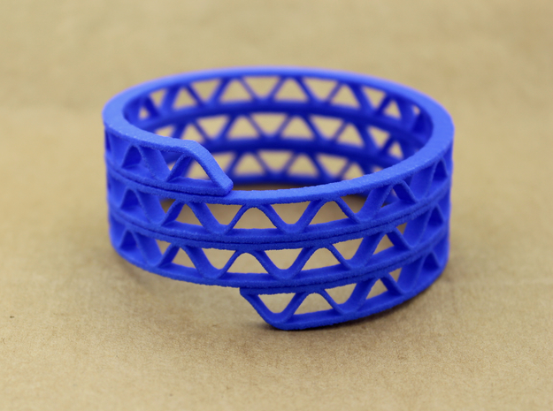 Corrugated Wrap Bracelet