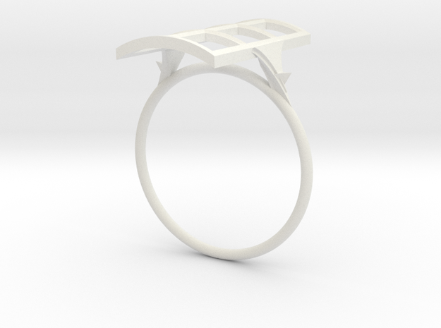 Anello Finestra  in White Natural Versatile Plastic