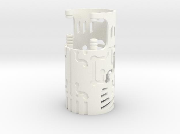 DV6 - Part (5/7) Shell in White Processed Versatile Plastic