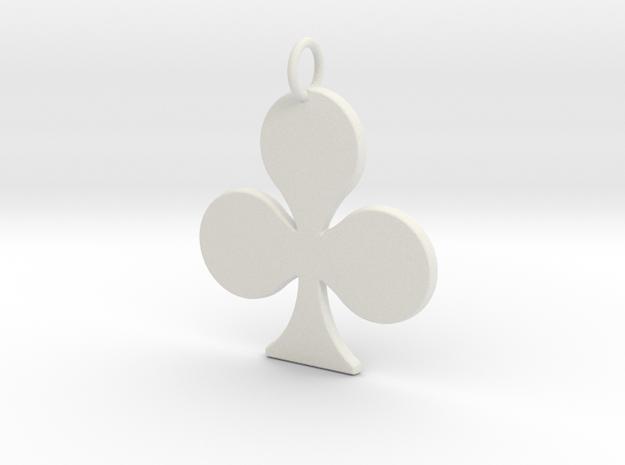 Trebol in White Natural Versatile Plastic