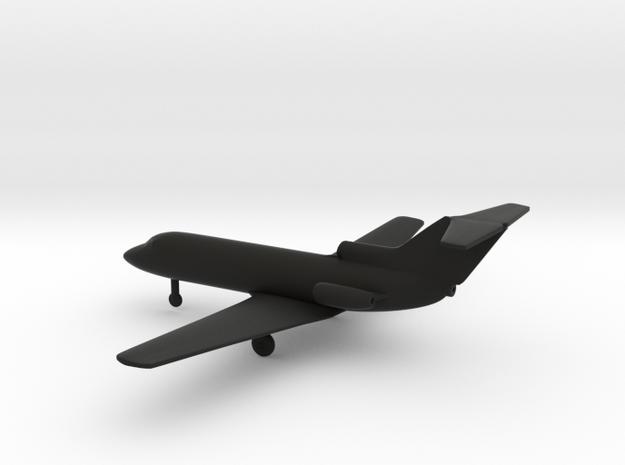 Yakovlev Yak-40 Codling in Black Strong & Flexible: 6mm