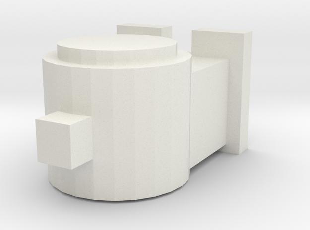 OO / HO Head Lamp in White Natural Versatile Plastic