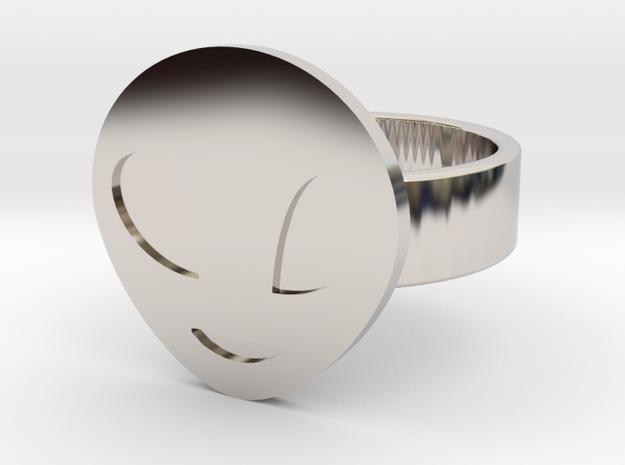 Alien Ring in Rhodium Plated: 10 / 61.5