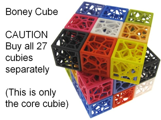 Boney Cube - core only
