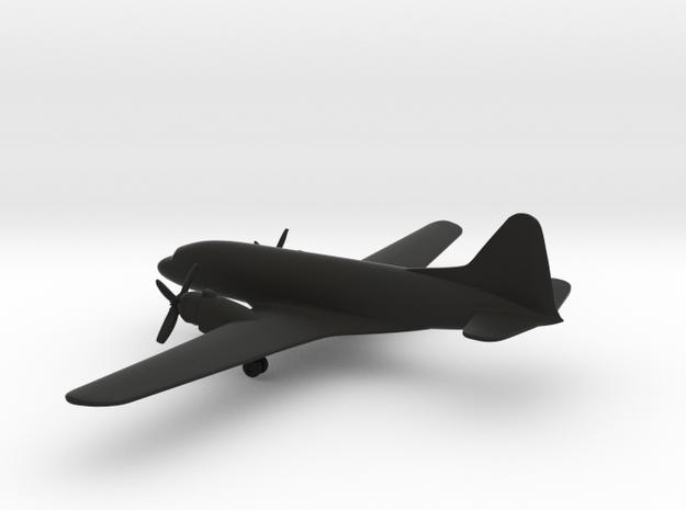 Ilyushin Il-12 Coach in Black Strong & Flexible: 6mm
