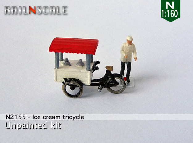 Ice cream tricycle (N 1:160)