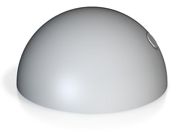 半圓.stl in White Strong & Flexible: Small