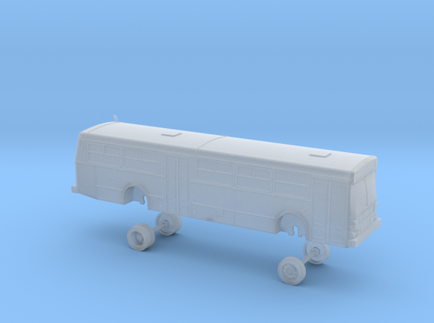 New Flyer D40; AC Transit bus 2500 series in Smooth Fine Detail Plastic