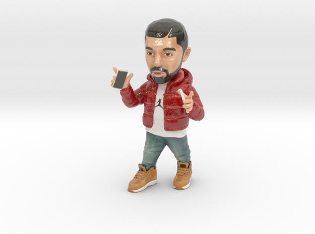 Drake in Coated Full Color Sandstone