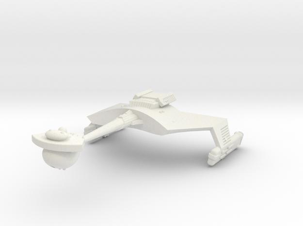 3125 Scale Klingon D7B Battlecruiser WEM in White Strong & Flexible
