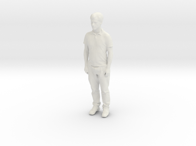 Printle C Homme 847 - 1/24 - wob in White Natural Versatile Plastic