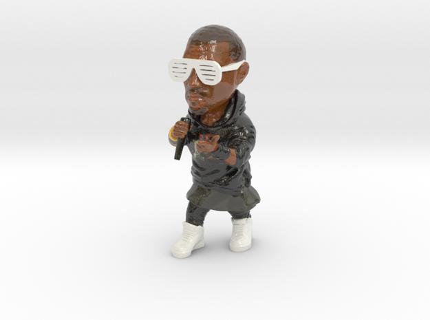 Kanye West in Coated Full Color Sandstone