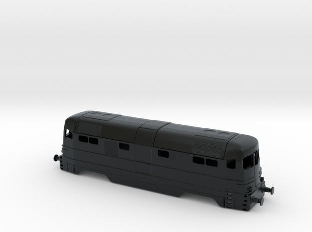 FS D342.4001-2 stato di origine (Ansaldo) in Black Hi-Def Acrylate