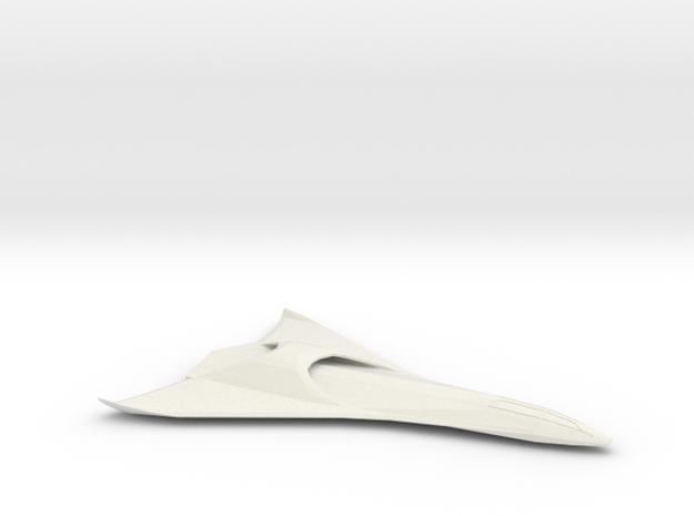 Eclipse-Class Shuttle Mk II in White Strong & Flexible