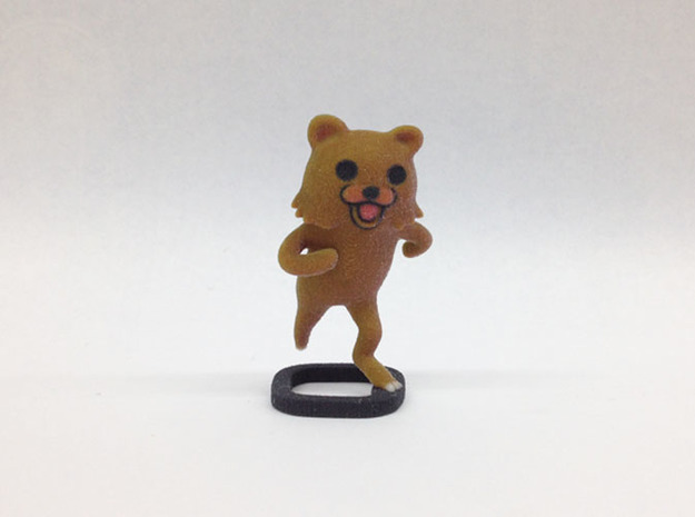 Pedobear in Full Color Sandstone