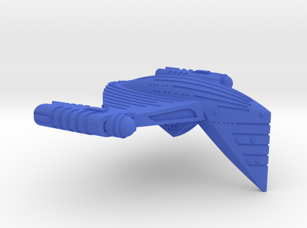 Detroitan Charger II Class Battle Cruiser(Upgrade) in Blue Strong & Flexible Polished