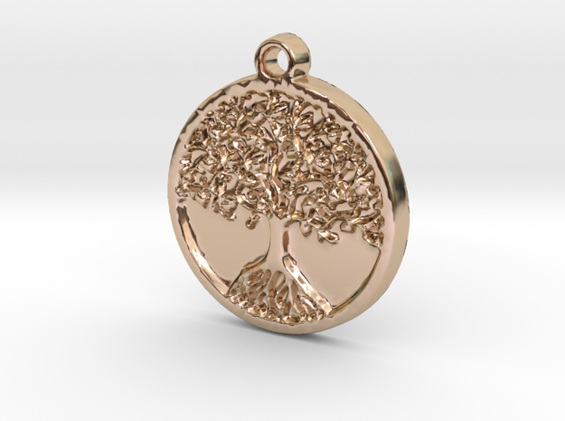 Tree of Life (Pendant) in 14k Rose Gold Plated
