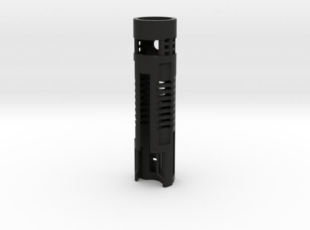 AOTC Chassis 18650, NBv3/4, bass speaker in Black Natural Versatile Plastic