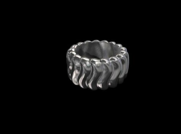 Wavy Ring 3d printed Render