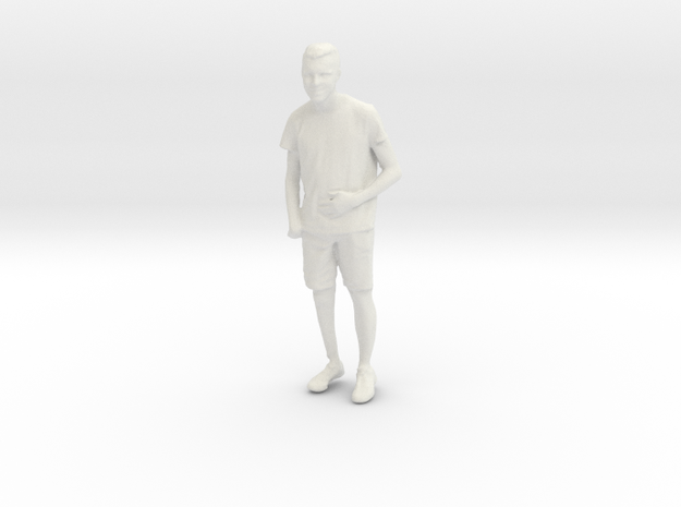 Printle C Homme 839 - 1/24 - wob in White Natural Versatile Plastic