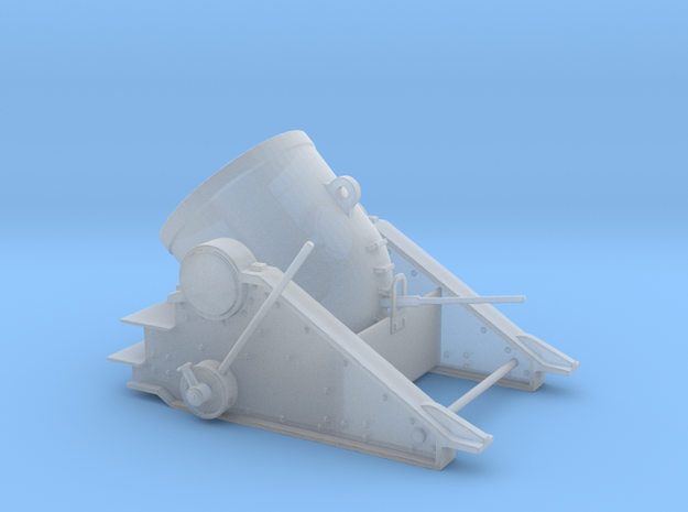 """Yorktown 13 inch Mortar  2"""" Long in Frosted Ultra Detail"""