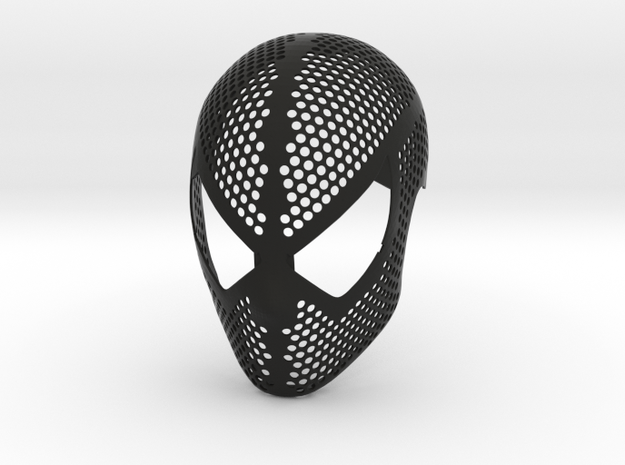 Raimi Face Shell - 100% Accurate Movie Suit Mask in Black Strong & Flexible: Small