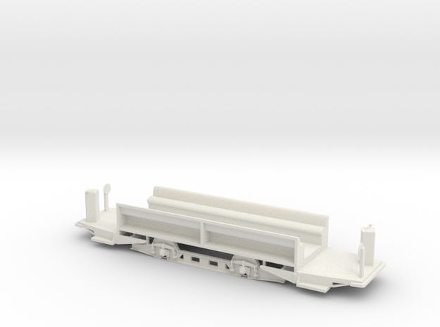 MC4 streetcar floor in White Strong & Flexible