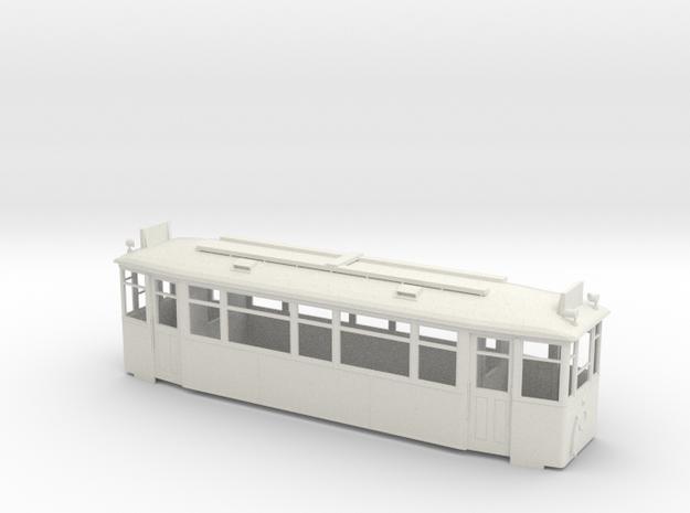 МС4 streetcar body in White Strong & Flexible