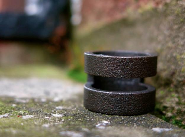 NODE - B. GERO -  in Matte Black Steel