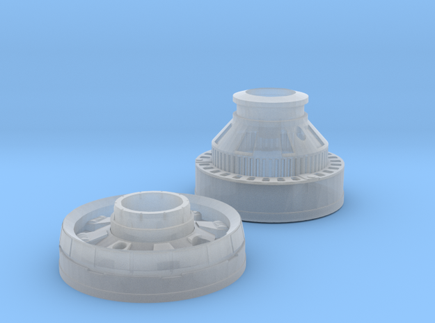 Crystal Chamber Chowe in Smooth Fine Detail Plastic